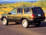 Pictures of Jeep Grand Cherokee Limited (ZJ) 1996–98