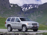Pictures of Jeep Grand Cherokee Overland (WJ) 2002–04