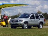 Pictures of Jeep Grand Cherokee Sport UK-spec (WJ) 2003–04