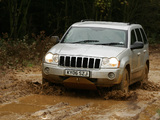 Pictures of Jeep Grand Cherokee CRD Limited UK-spec (WK) 2005–07