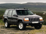 Jeep Grand Cherokee Limited UK-spec (ZJ) 1996–98 wallpapers