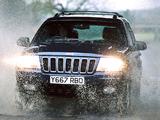Jeep Grand Cherokee UK-spec (WJ) 1998–2003 wallpapers