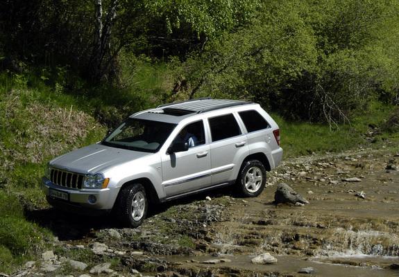 Jeep Grand Cherokee Wk 2005 07 Wallpapers