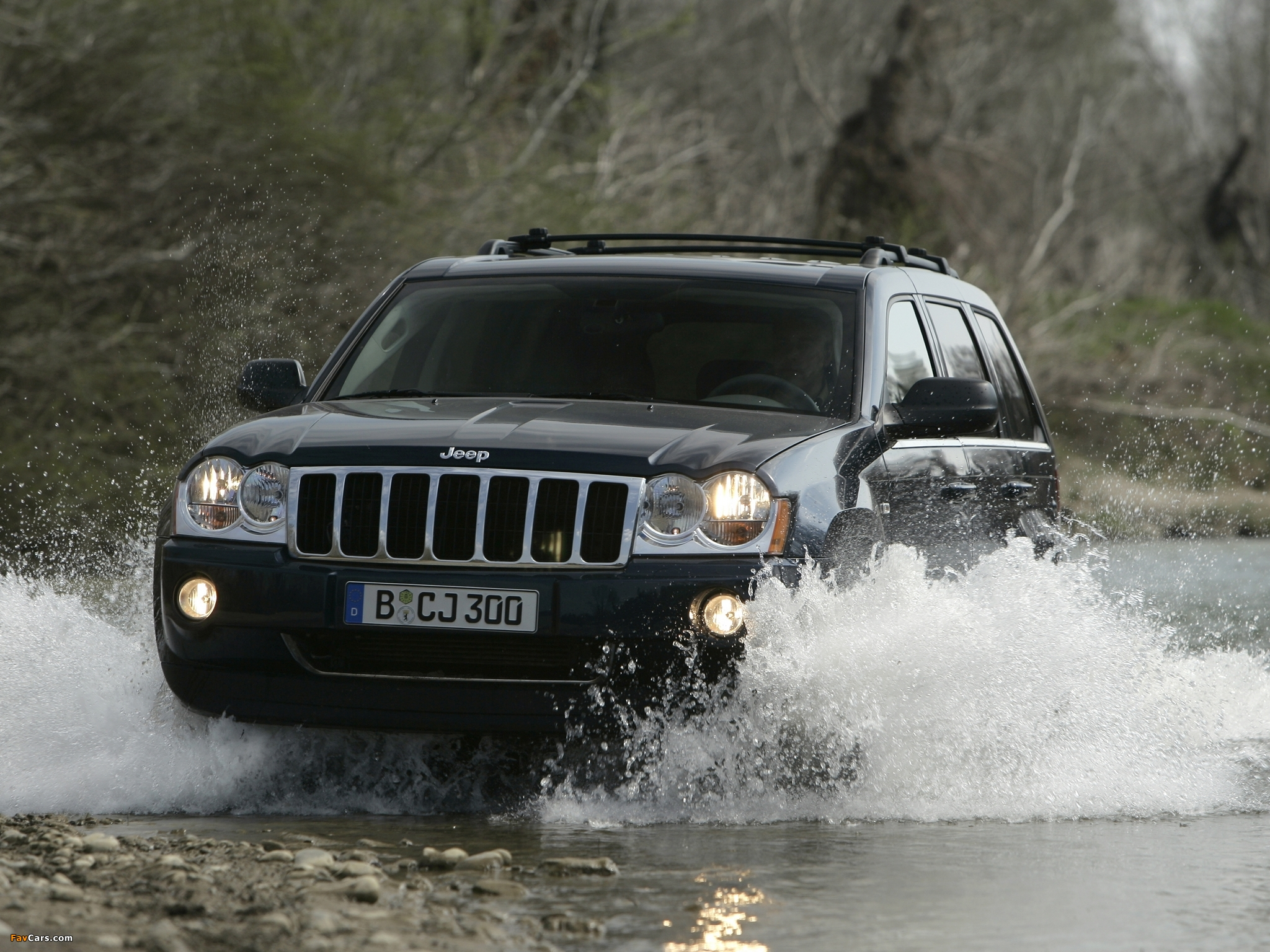 Jeep Grand Cherokee Crd Limited Wk 2005 07 Wallpapers 2048x1536