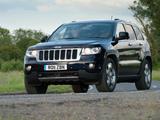 Jeep Grand Cherokee UK-spec (WK2) 2011 wallpapers
