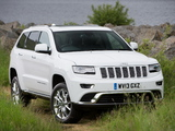 Jeep Grand Cherokee Summit UK-spec (WK2) 2013 wallpapers