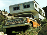 Jeep J10/J20 Red Dale Camper 1973 wallpapers