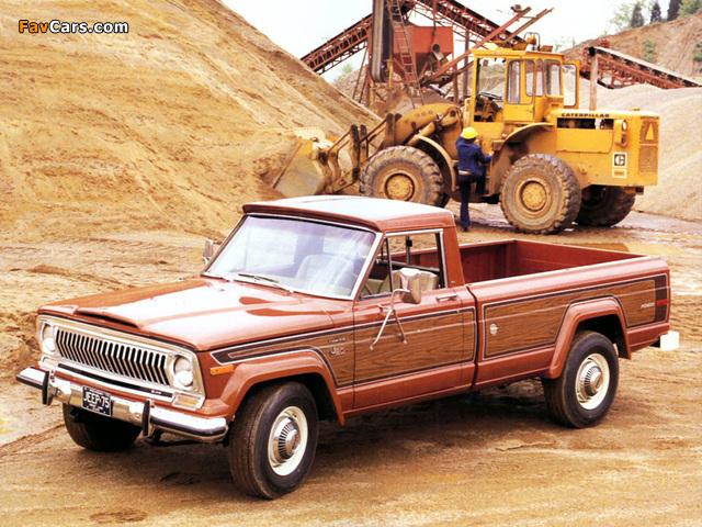 Jeep J20 Pioneer 1974–88 wallpapers (640 x 480)