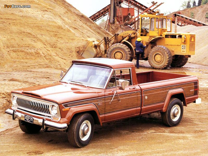Jeep J20 Pioneer 1974–88 wallpapers (800 x 600)