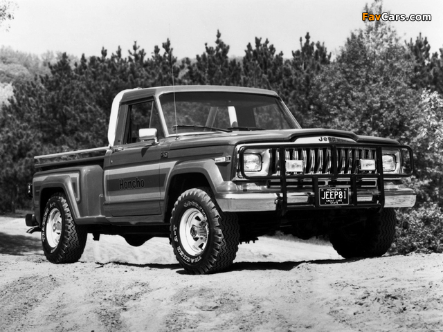 Jeep J10 Honcho 1981–83 wallpapers (640 x 480)
