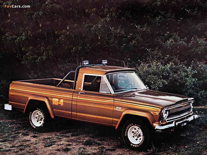 Photos of Jeep J10 Honcho 1976–78 (800 x 600)
