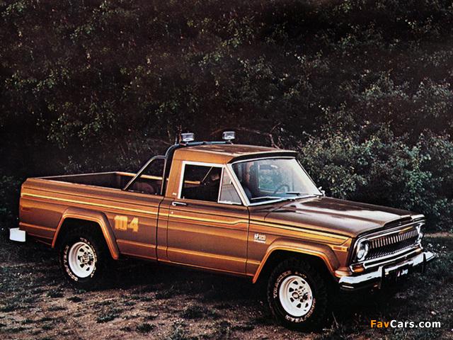 Photos of Jeep J10 Honcho 1976–78 (640 x 480)