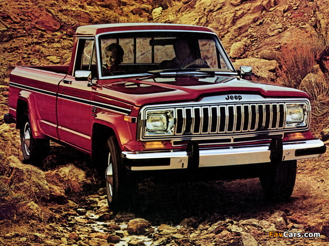 Jeep J10 1981–87 wallpapers (640 x 480)