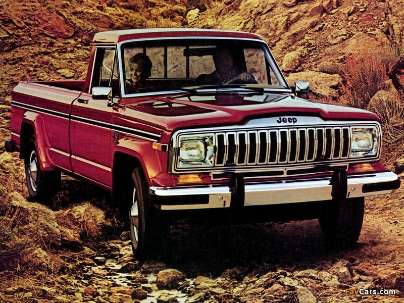 Jeep J10 1981–87 wallpapers (800 x 600)