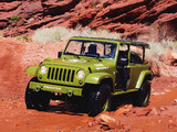 Jeep J8 Sarge Concept 2009 wallpapers
