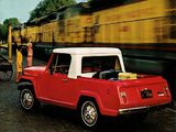 Jeep Jeepster Commando Pickup 1967–71 wallpapers