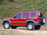 Jeep Liberty Sport 2002–05 images