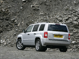 Jeep Patriot UK-spec 2007–10 images