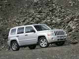 Jeep Patriot UK-spec 2007–10 wallpapers