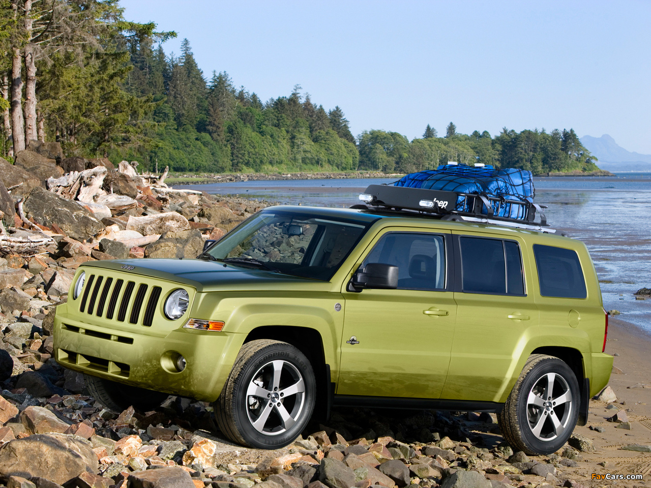 Jeep Patriot Back Country 2008 Wallpapers 1280x960