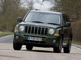 Photos of Jeep Patriot UK-spec 2007–10