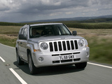 Pictures of Jeep Patriot UK-spec 2007–10