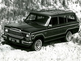 Jeep Wagoneer Limited 1982–83 wallpapers