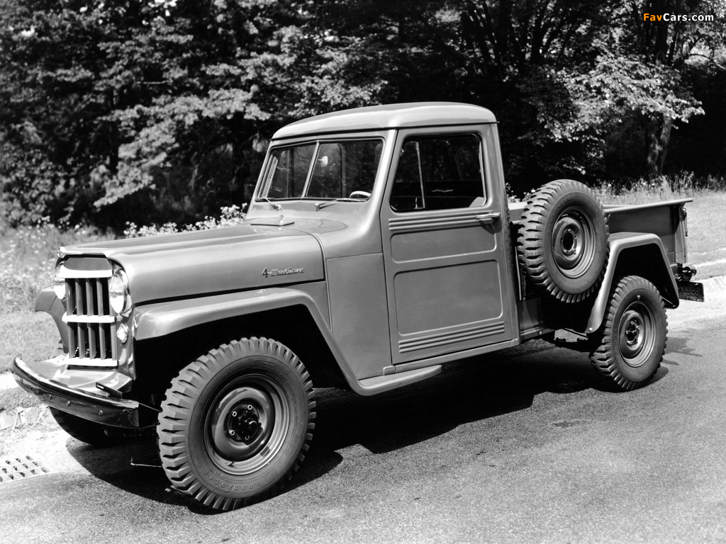 Images of Willys Jeep Truck 1947–65 (1024 x 768)