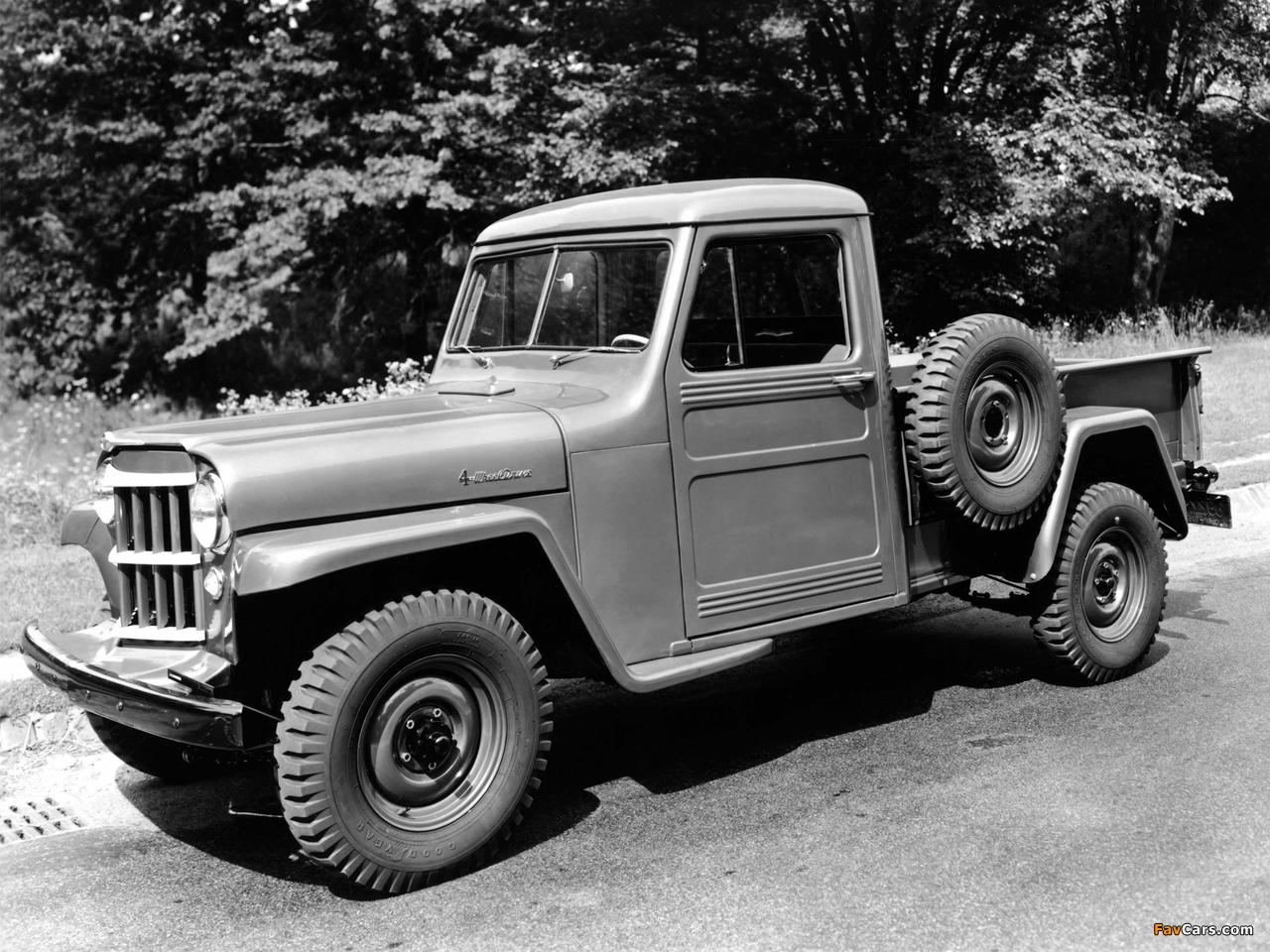 Images of Willys Jeep Truck 1947–65 (1280 x 960)