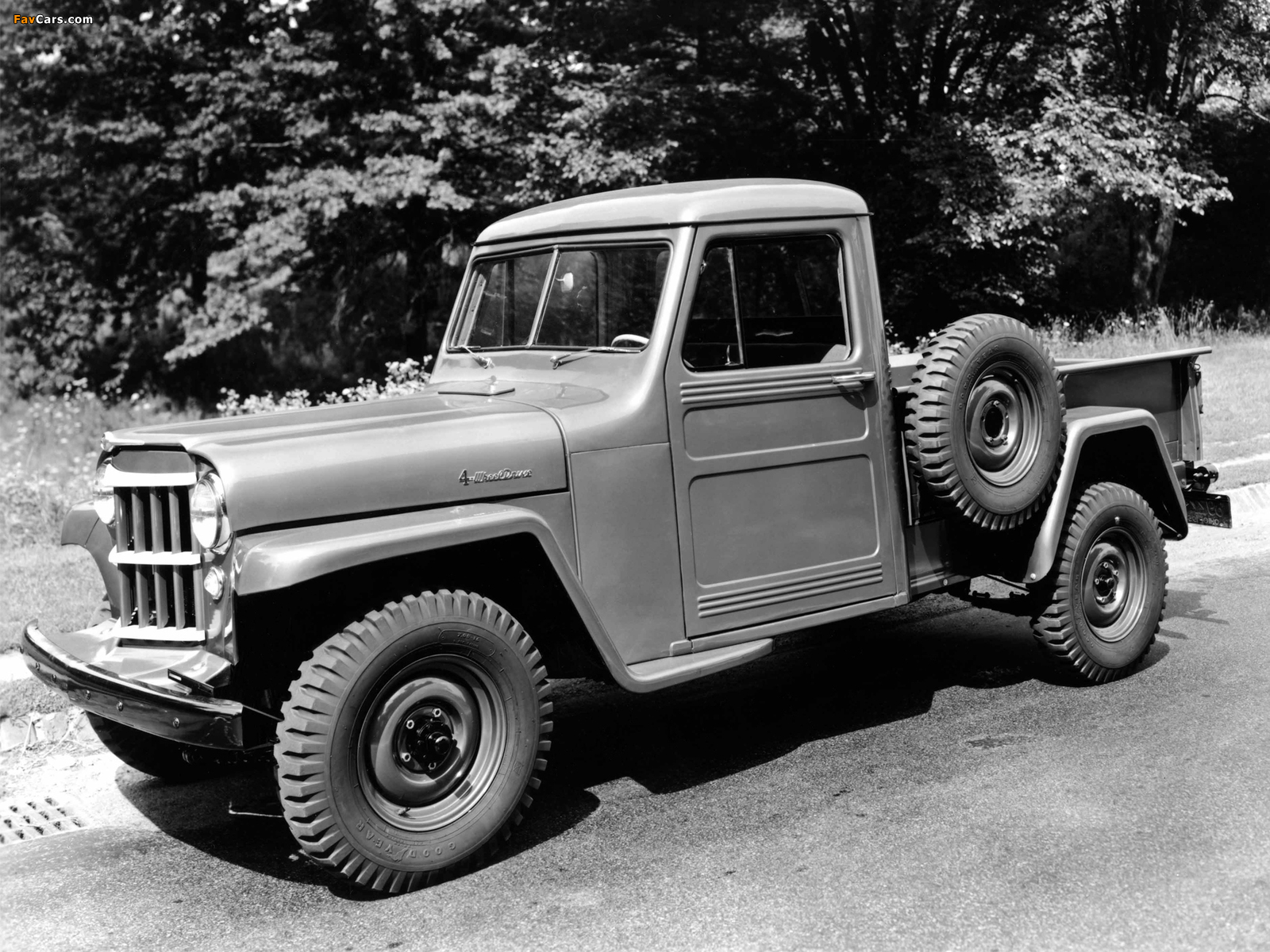 Images of Willys Jeep Truck 1947–65 (1600 x 1200)