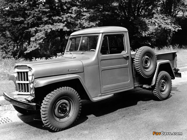 Images of Willys Jeep Truck 1947–65 (640 x 480)