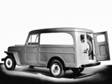 Willys Jeep Wagon Panel Delivery 1946–50 wallpapers