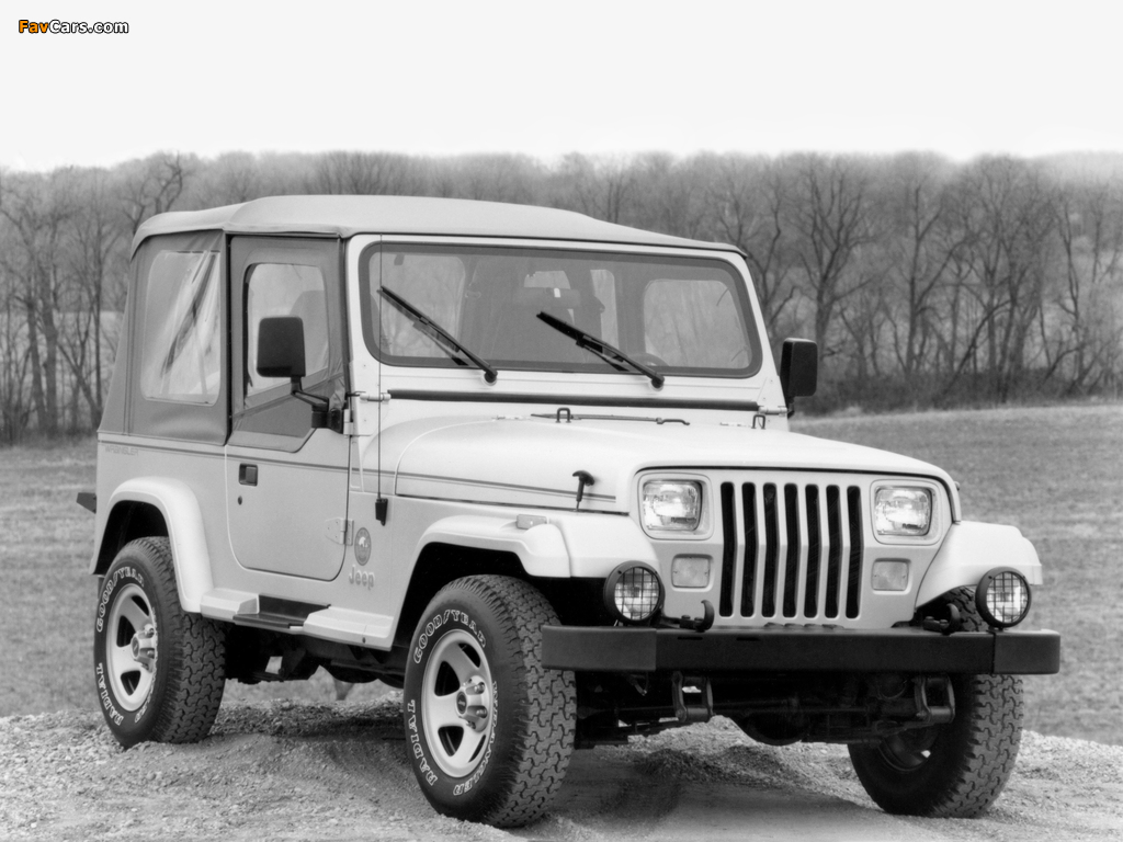 Images of Jeep Wrangler Sahara (YJ) 1992 (1024 x 768)