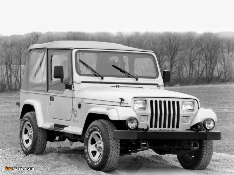 Images of Jeep Wrangler Sahara (YJ) 1992 (800 x 600)