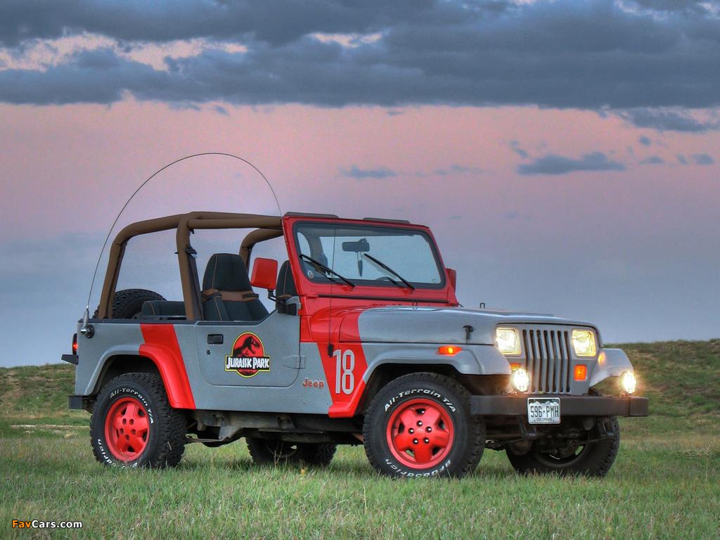 Images of Jeep Wrangler Jurassic Park (YJ) 1993 (1024 x 768)