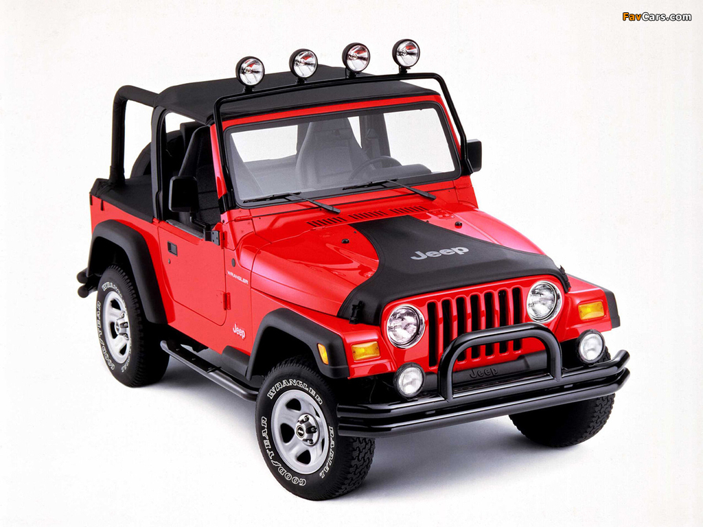 Images of Jeep Wrangler (TJ) 1997–2006 (1024 x 768)