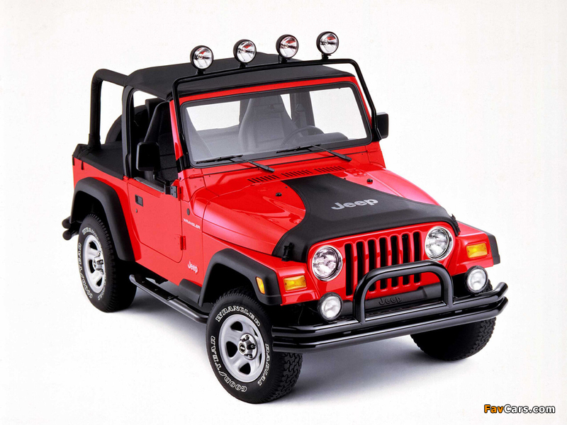 Images of Jeep Wrangler (TJ) 1997–2006 (800 x 600)
