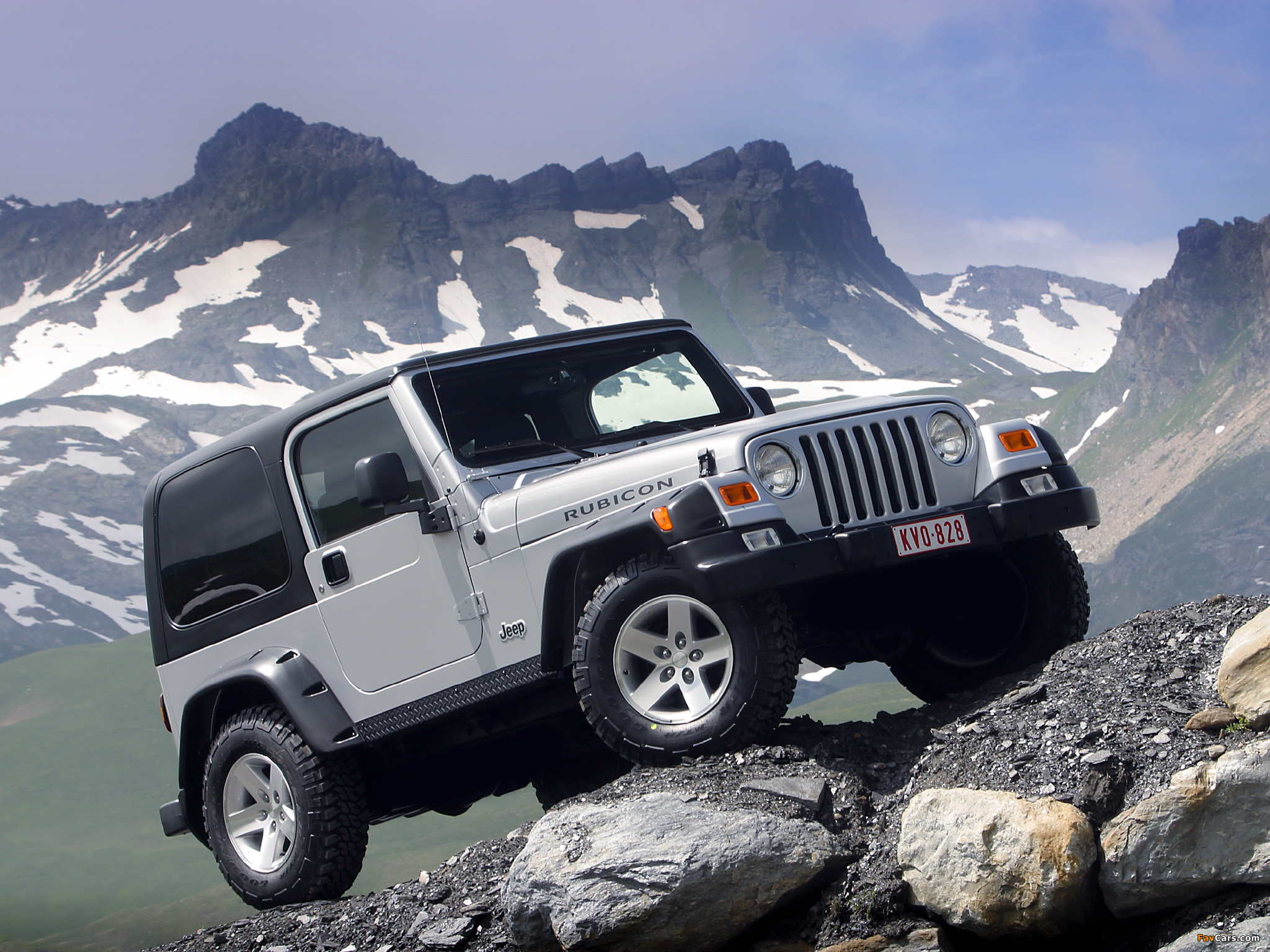 Images of Jeep Wrangler Rubicon (TJ) 2002–06 (2048 x 1536)