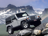 Images of Jeep Wrangler Rubicon (TJ) 2002–06
