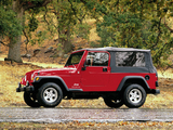 Images of Jeep Wrangler Unlimited (TJ) 2005–06