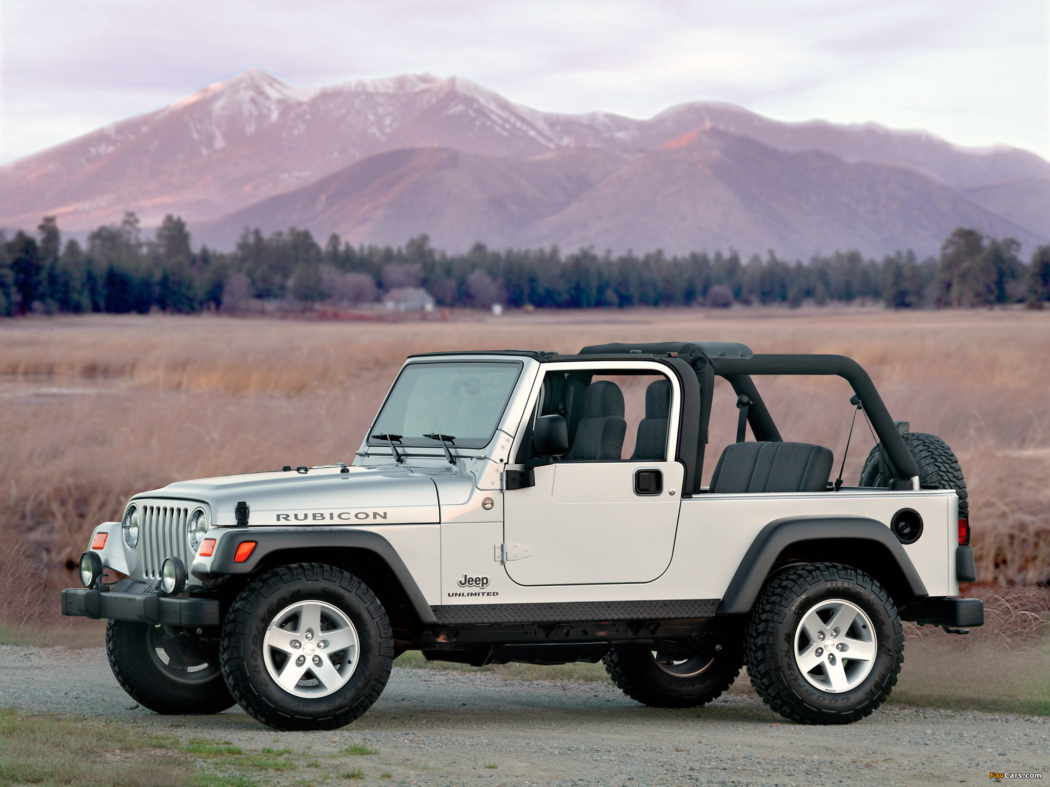 Images of Jeep Wrangler Unlimited (TJ) 2005–06 (2048 x 1536)