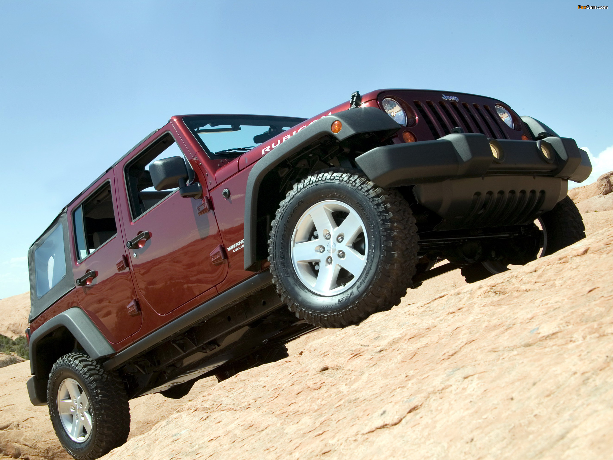 Images of Jeep Wrangler Unlimited Rubicon (JK) 2006–10 (2048 x 1536)