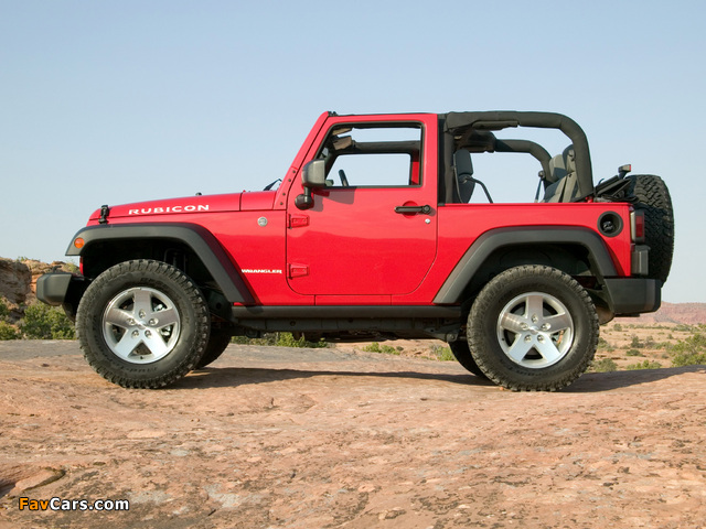 Images of Jeep Wrangler Rubicon (JK) 2006–10 (640 x 480)