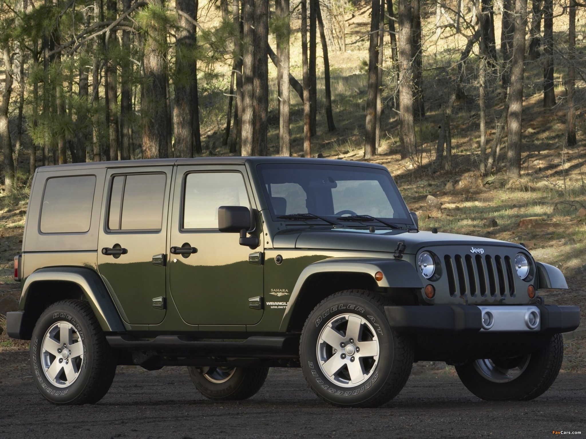 Images of Jeep Wrangler Unlimited Sahara (JK) 2006–10 (2048 x 1536)