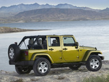 Images of Jeep Wrangler Unlimited Sahara (JK) 2006–10