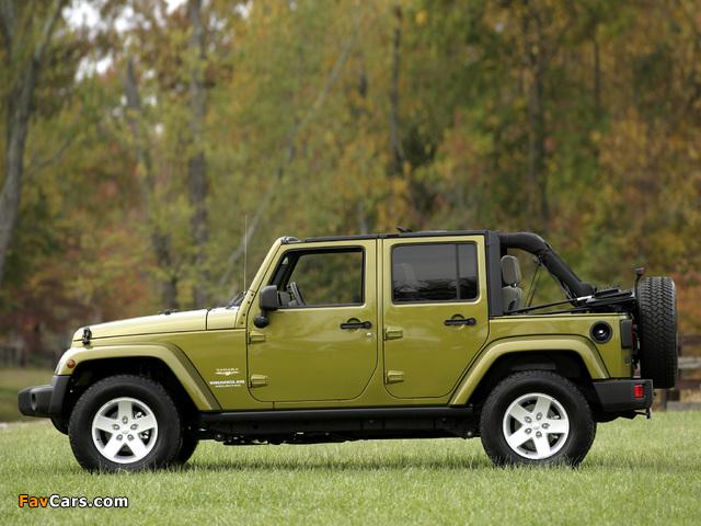 Images of Jeep Wrangler Unlimited Sahara EU-spec (JK) 2007 (640 x 480)