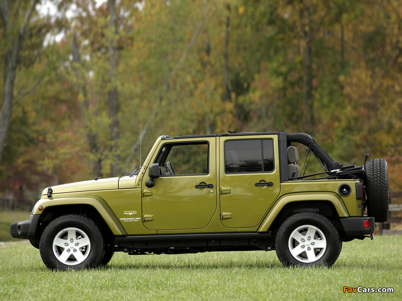 Images of Jeep Wrangler Unlimited Sahara EU-spec (JK) 2007 (800 x 600)