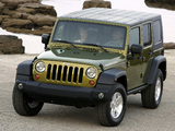 Images of Jeep Wrangler Unlimited Rubicon EU-spec (JK) 2007