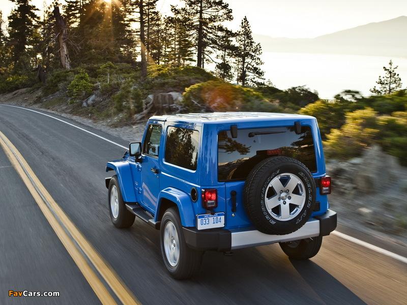 Images of Jeep Wrangler Sahara (JK) 2007 (800 x 600)