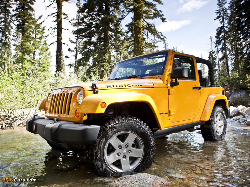 Images of Jeep Wrangler Rubicon (JK) 2010 (800 x 600)